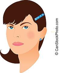woman face 6