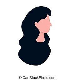 woman face cartoon