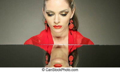 woman  face pretty