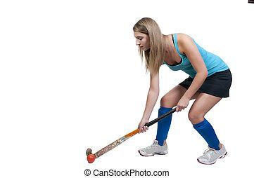 Woman Field Hockey