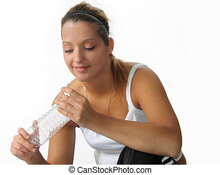 Woman Fitness Water