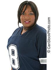 Woman Football Jerse