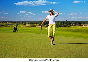 woman Golf player