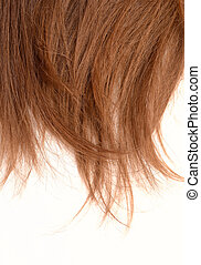 woman hair