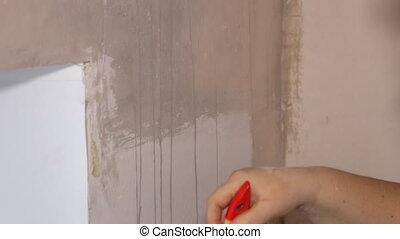 Woman Handle wall brush - Woman Builder Handle wall brush