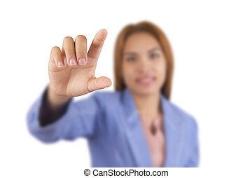 woman., handlowy