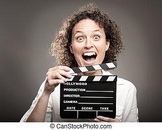 woman hatalom, egy, film, clapper kosztol