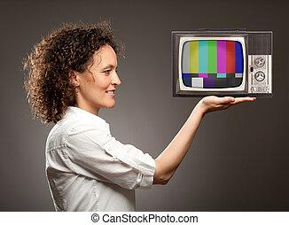 woman hatalom, egy, televízió