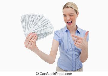 woman hatalom, pénz, és, lényeg at, azt
