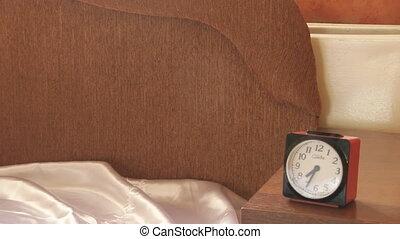 Woman Hits Her Alarm Clock