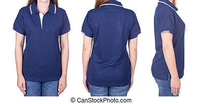 Blue Polo Shirt Mock Up Blank Polo Shirt Mock Up Template