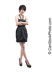 Woman in fashion