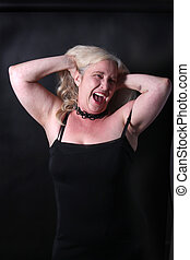 Woman in her fifties - Pretty, confident, middle aged woman...