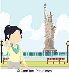 woman in liberty