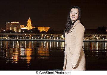 Woman in Malaga