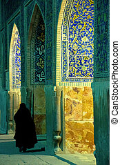 Woman in Mosque