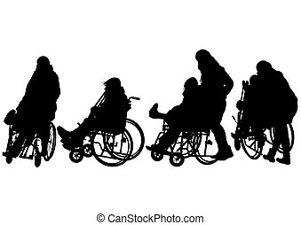 Woman in wheelchair five