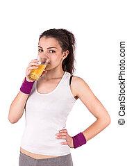 woman juice sport