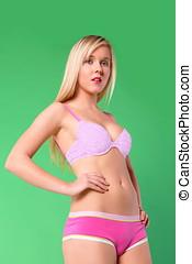 Woman lingerie fashion