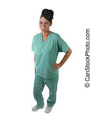 Woman Medical Staff Member