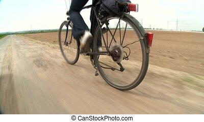 Bike - Woman on Bike