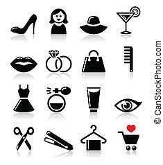 Woman or girl - beauty and fashion
