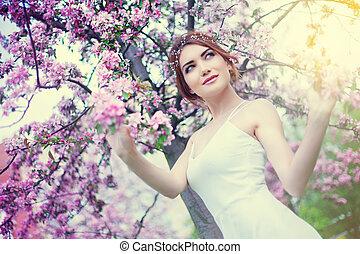 woman outdoor