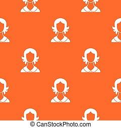 Woman pattern seamless