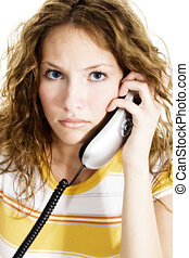 Woman Phone Teen