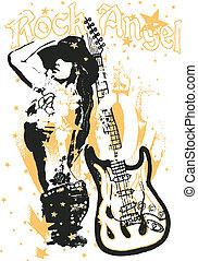 woman pop art poster