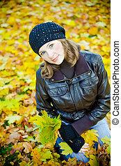 Woman Portrait - Autumn