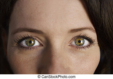 Woman Portrait Eyes