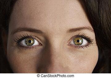 Woman Portrait Eyes
