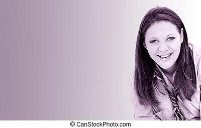 Woman Portrait Grape