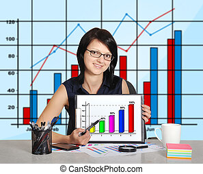 chart on clipboard