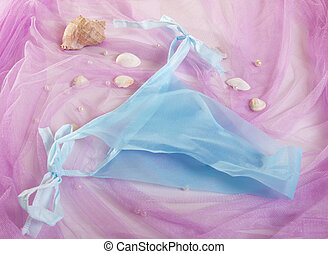woman spa disposable panties for depilation