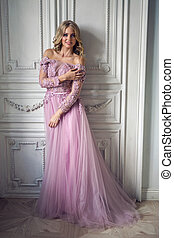 Woman Spinning Dress