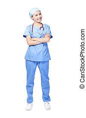 Woman surgeon doctor