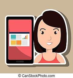 woman tablet statistics