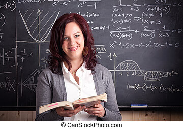 woman teacher at school