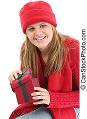 Woman Teen Christmas