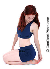 Woman Teen Fitness