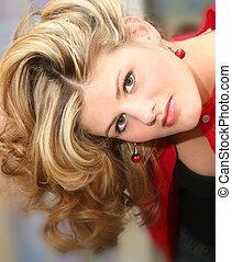 Woman Teen Hair