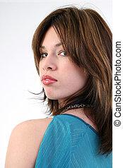 Woman Teen Portrait