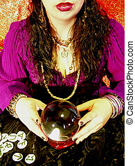 crystal ball reader