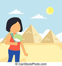 woman tour egypt