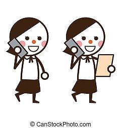 Woman who calls