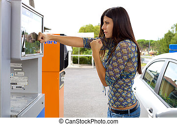 Woman willing to fight the price of gas