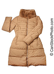 Woman winter coat