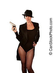 Woman with a Pistol